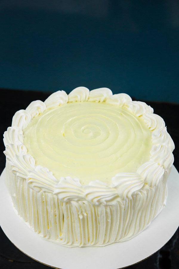 Lemon Dobash Cake