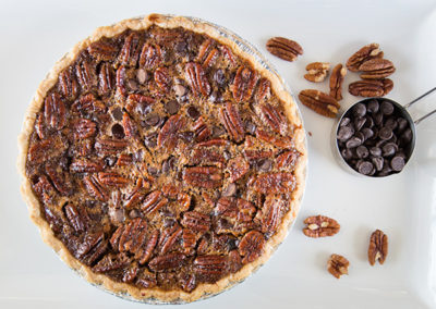 Chocolate Chip Pecan Pie
