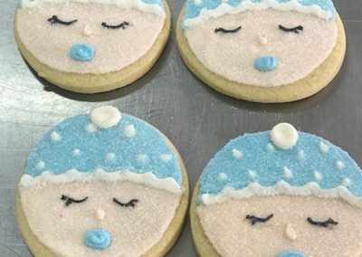 BabyBoyDecoratedButterCookies
