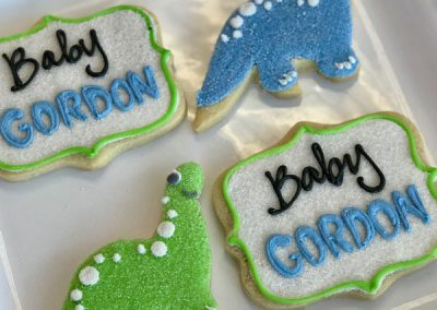 BabyDinosaurDecoratedButterCookies