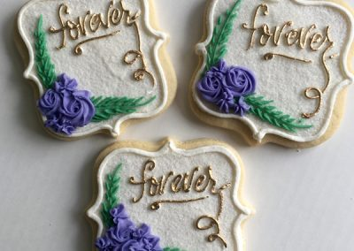 DecoratedButterCookies-WeddingPurpleFlowers